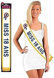 Générique Echarpe Miss 18 Ans 184 cm