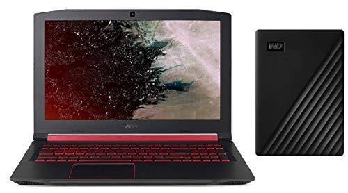 Acer Nitro 5 AN515-52 15.6-inch Gaming Laptop (8th Gen Intel Core i5-8300H/8GB/1TB + 256GB SSD/Windows 10 Home 64-bit/4GB NVIDIA GeForce GTX 1050Ti Graphics), Shale Black