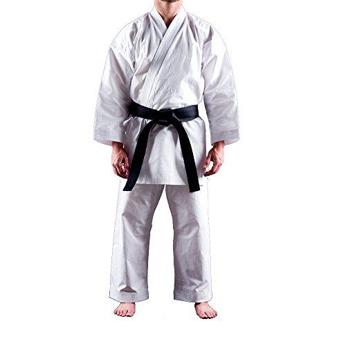 Uniforme Karate Gi Shuto Beginner | Karategi Blanco | Kimono Karate Ligero | 8 Onzas | 130 cm