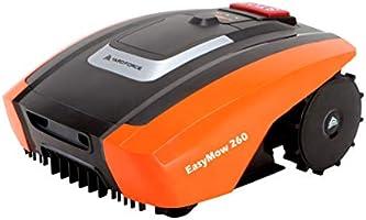YARD FORCE EasyMow260 robotgräsklippare lämplig för upp till 260 kvm självgående gräsklippare robotar, drift och lätt...