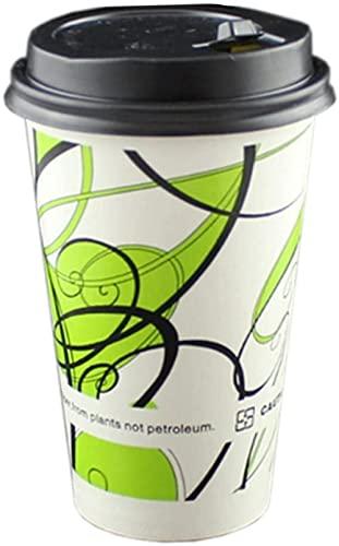 Bolsa 50 Taza de café desechable de 16 onzas Que Imprime la Taza de café para Llevar D