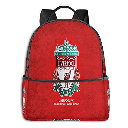 Lfc - Mochila para hombre y niña, mochila de viaje, multifuncional, con impresión en D, resistente al agua, resistente al agua