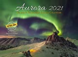 Aurora 2021 wall calendar, Alaska s Northern lights