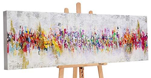YS-Art Premium | Cuadro Pintado Mano Abstraktion II