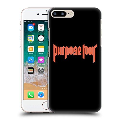 Head Case Designs Offizielle Justin Bieber Logo Tour Merchandise Harte Rueckseiten Huelle kompatibel mit iPhone 7 Plus/iPhone 8 Plus