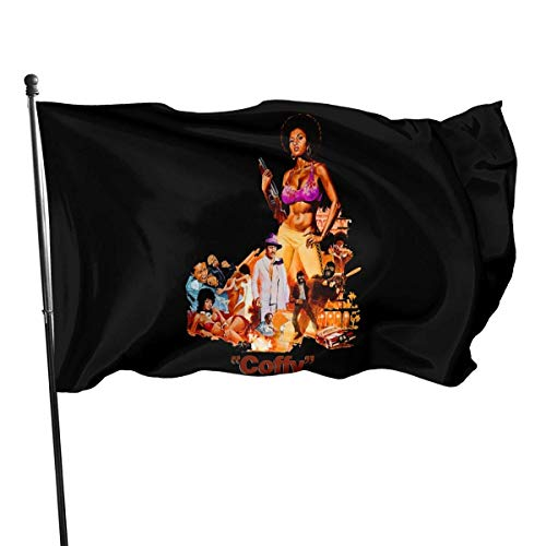 Emonye Pam Grier Garden Flag Garden Decoration Logo, Indoor and Outdoor Flag 3x5 Ft