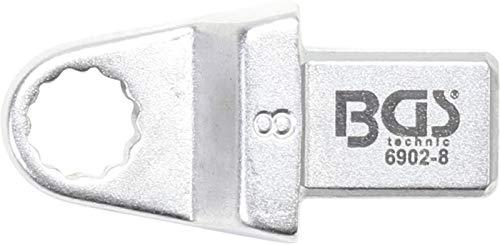 BGS 6902-8 | Clé annulaire | 8 mm | Empreinte 9 x 12 mm