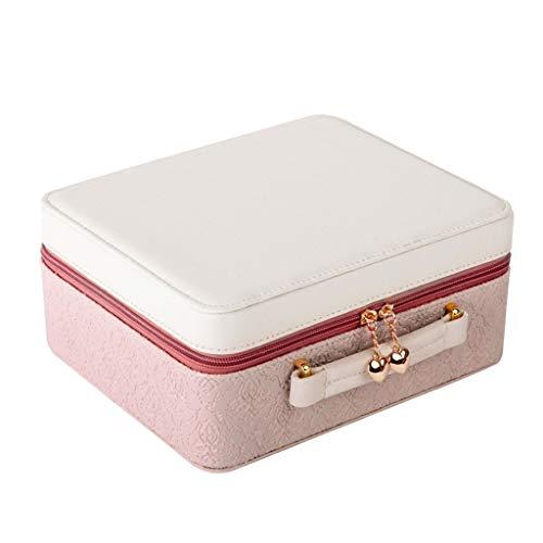 Boîte de Rangement de Rangement (Color : Pink, Taille : 24 * 20 * 11cm)