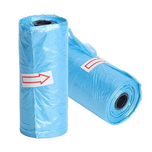 Z-Y Vuilniszakken 20 Roll Portable Luier Waste Bag for Luier Waste Bag Kinderwagens Organizer Kinderwagens Wegwerp Vuilniszak #z