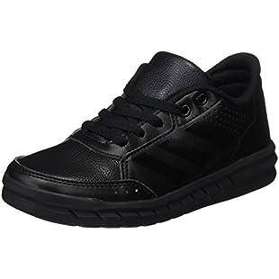adidas AltaSport Cf, Unisex Kids' Low-Top Sneakers, Black (Core Black), 13.5 UK (32 EU):Kumagai-yutaka