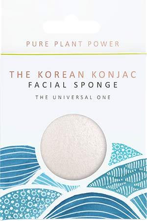 The Konjac Sponge Co The Elements Water avec éponge 100 % pure pour le visage