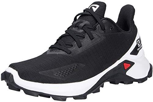 Salomon Alphacross Blast niños Zapatos de trail running, Negro (Black/White/Black), 31 EU