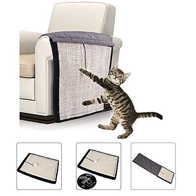 JIAYOYO Pet Cat Scratch Board, Cat Claws Pad, Sofa Protection Pad Mat, Cat Climbing Mat Natural Sofa Protection Pad by JIAYOYO
