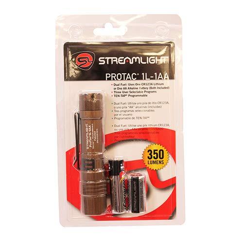 Streamlight Protac - Linterna táctica programable (1 L, 350 lúmenes)