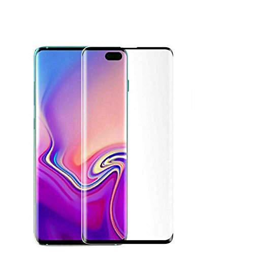 Yingge volledig gebogen scherm gehard glas beschermfolie voor Samsung Galaxy S7 Edge S8 S9 S10 Plus S10E, For Samsung S10 Plus, Zwart