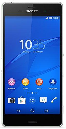 """Sony Smartphone Xperia Z3 sbloccato, 4G, schermo da 5.2"""", 16 gb, IP68, Android 4.4 KitKat argento, verde"""