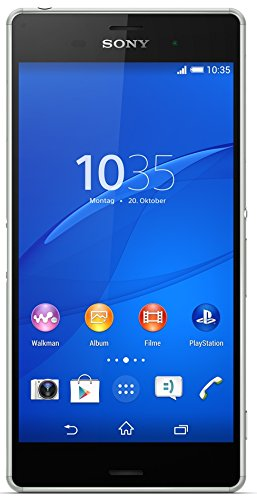 Sony Xperia Z3 Smartphone (13,2 cm (5,2 Zoll) Touch-Display, 16 GB Speicher, Android 4.4) silbergrün
