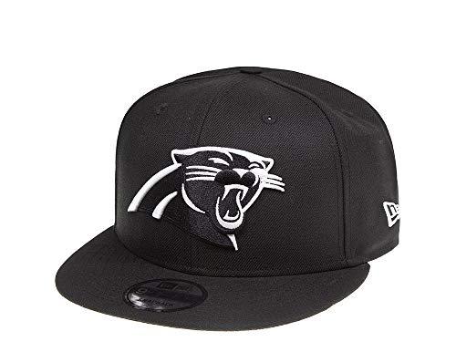 New Era Carolina Panthers Black and White 9Fifty Snapback Cap - NFL Kappe