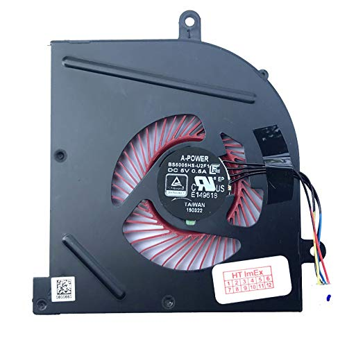 (CPU) - Lüfter/Kühler - Fan komaptibel für MSI GS63 7RD-224 (0016K4-224), GS63 7RE-011 (0016K4-011), GS63VR 7RF-627 (0016K2-627)