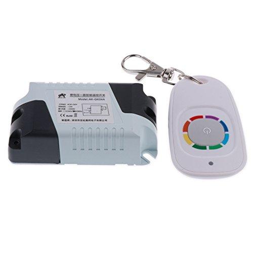 Sharplace Télécommande sans Fil Porte De Garage Transmetteur + Récepteur 315mhz 120V