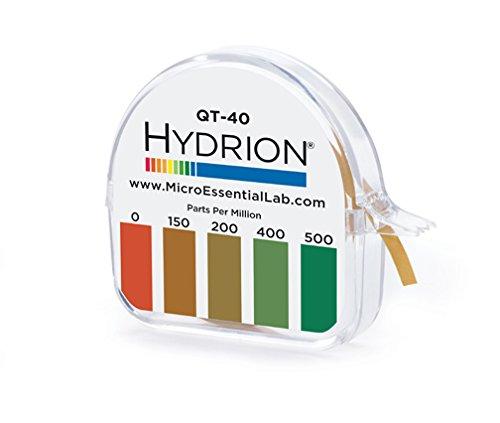 Hydrion QT-40 Quaternary Sanitizer Test Tape 15 feet Roll...