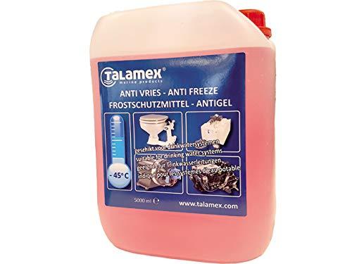 Talamex Antigelo Anti Freeze Boot (protezione per sistemi per acqua potabile, sistemi di raffreddamento e motori su barche) | 5 l/20 l