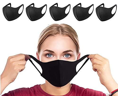 indiadeals24x7 Face Masks | Fabric Face Masks washable | 6-pack | UK Seller