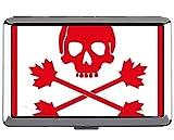 Yanteng Cigarette Case King Size, Bandera Pirata, Canadá, Titular de la Tarjeta de presentación