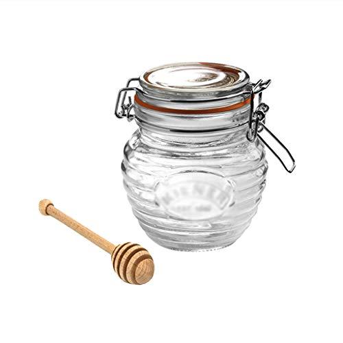ZAZA Tarros Tarro de Cocina con Tapa hermética y Junta de Fugas, Bote de Alimentos, despensa, organización contenedores perfectos for la Cocina. Contenedor Alimentos