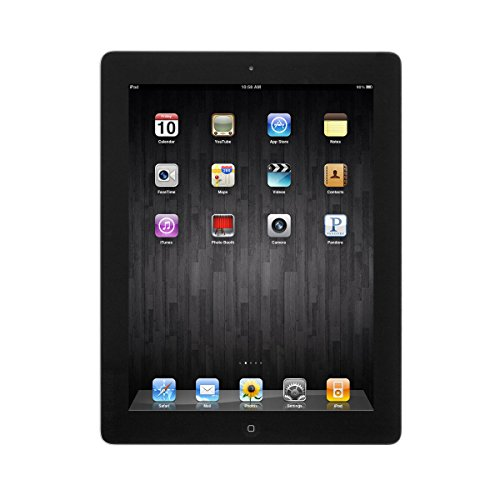 Apple iPad 4 16GB 9.7in Retina Display WiFi Bluetooth & Camera - Black - 4th Gen (Renewed)