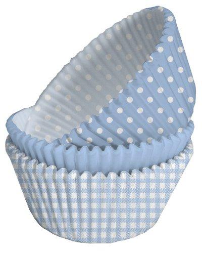 75 Muffinförmchen * BABY BOY * zur Geburt oder einem Geburtstag // Party Muffin Cupcake Förmchen Junge