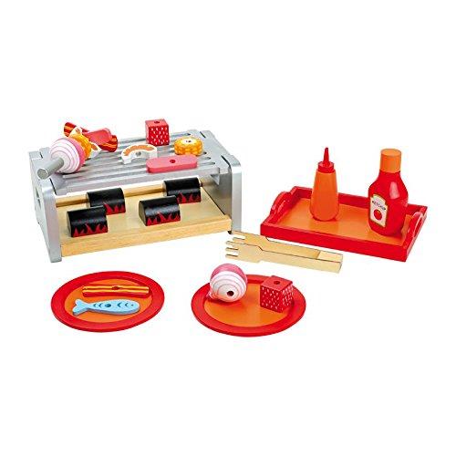 Legler Small Foot Company (Smb5V) - 5858 - Jeu D'Imitation - Cuisine - Plateau - Barbecue De Table