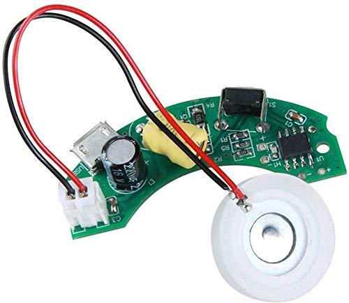 xiegons0 5V 16mm Ultrasónico Máquina Niebla Aspersor Cerámica Discos con Potencia Conductor Placa para USB Mini Humidificador Reparación Piezas de Recambio - 46 X 20 X 17MM, 16 mm