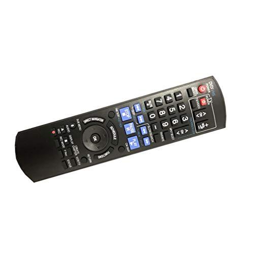 Easy Replacement remote control fit for Panasonic DMR-EZ485VK DMR-EZ48V DMR-EZ48VK DVD Recorder Player