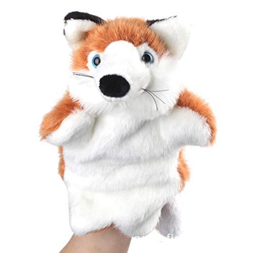 Ogquaton Fuchs handpuppe Baby Kinder Puppe plushtoys langlebig und nützlich