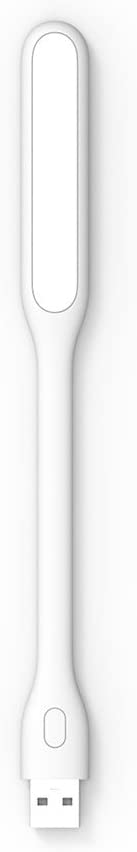 ZMI Dimmable (5 Brightness Levels) Bendable Portable USB Powered LED Light/LED Lamp - 2nd Gen (White)