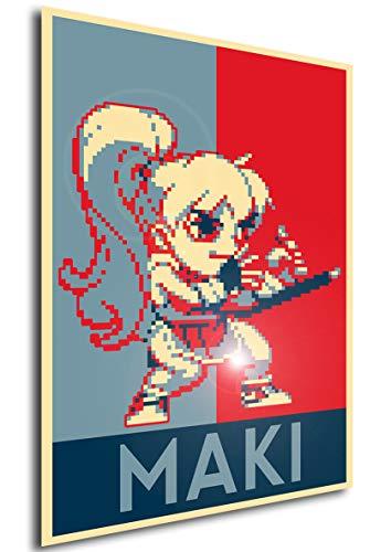 Instabuy Poster - Propaganda - Pixel Art - Final Fight II - Maki A4 30x21