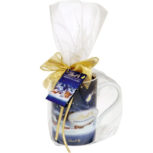 Lindt & Sprüngli Weihnachts-Zauber Tasse, 1er Pack (1 x 100 g)