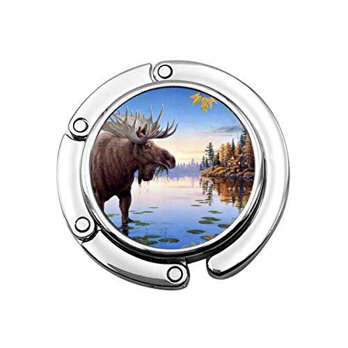 Handtas Haak Schilderij van Moose Opvouwbare portemonnee Bureau Haken Handtas Tafel Hanger Handtas Hangers