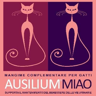 DEAKOS Ausilium Miao- Barattolo da 300 g- Salvaguarda Il Benessere delle Vie urinarie