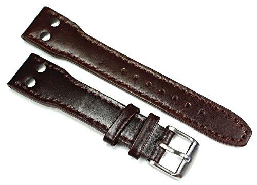 Sulla - Cinturino per orologio pilota Aviator IW in pelle di vitello...