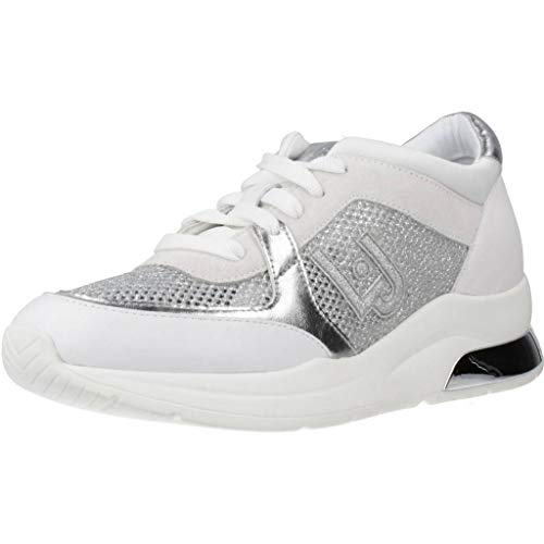 Liu Jo Shoes Damen Karlie 12 Sneaker, Weiß (White 01111), 38 EU