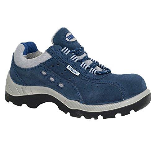 Paredes OSMIO III AZUL PAREDES SP5022-AZ/35 - Zapato seguridad negro y gris, puntera + plantilla Compact No metálica. Modelo OSMIO III AZUL. Categoría S1P HRO SRC - Talla 35