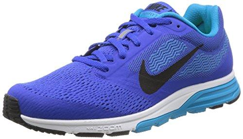 Nike NIKE AIR ZOOM FLY 2 Herren Sneaker, Lyon Blau/Black-Bl Lagoon-Weiss, 42