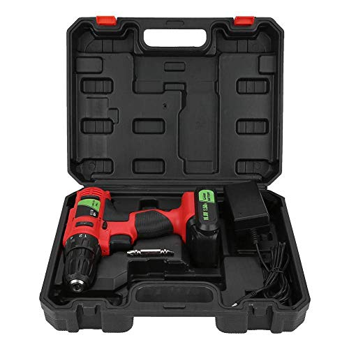 W-SHTAO Hardware Storage Box 16.8V Electric Lithium Cordless Drill Screwdriver Handheld Tool(GB), 16.8V Electric Lithium Cordless Drill Screwdriver Professional Handheld Tool UK Plug 100-240V