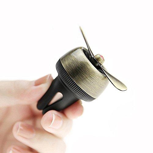 XMDZ Diffuseur à Grille d'aération Voiture Parfum sans Eau Décoration Design Moderne Créatif Hélice d'avion