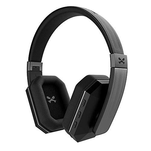 Ghostek soDrop 2 Premium Wireless Headphones | Built-in Microphone & Controls | Black