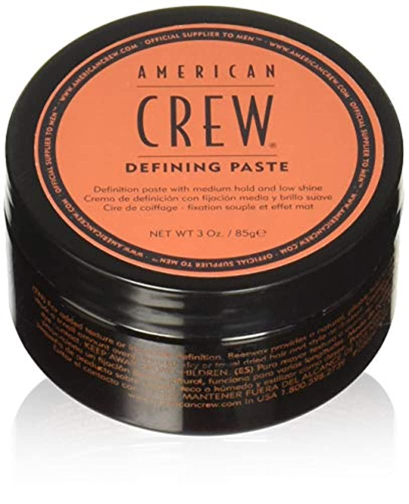 American Crew for Men Defining Paste Medium Hold Low Shine - 3.0 Ounce (Pack of 2 Jars)