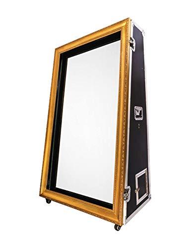 HIFOTO RIM650 65 pollici infrarossi Touch Screen Photo Booth, tutto in uno specchio mobile cabina macchina, con PC, marca DSLR fotocamera e stampante