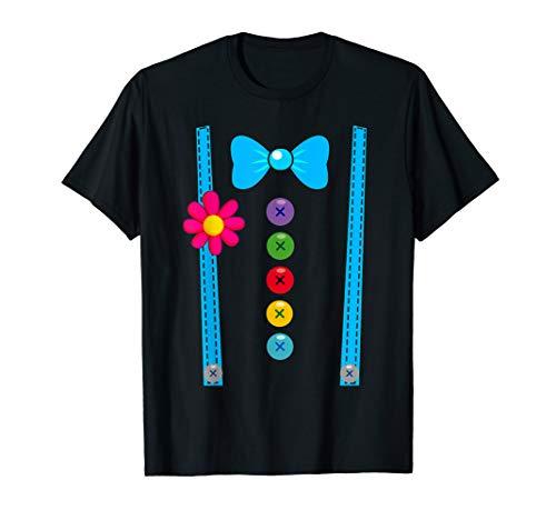 Clown Kostüm T-Shirt Fasching Gruppen-Kostüme Kinder Junge
